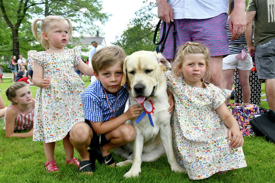 The Litchfield Historical Society held  its annual Pet Parade and Turn of the Century Fest on July 4, 2019.  Photo: Lara Green- Kazlauskas/ Hearst Media