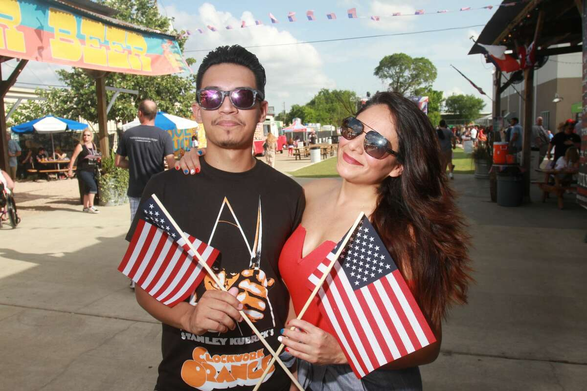 Celebrating the Fourth of July at Karbach Brewing Co. The evening featured Rock and Roll Hall of Fame inductees, Cheap Trick, and a fireworks spectacular.