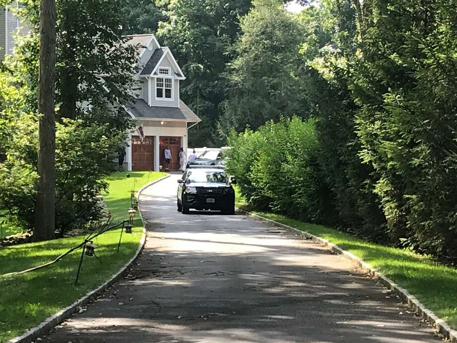 Stamford police are investigating an incident at a Woodley Road home Friday morning. Photo: John Nickerson / Hearst Connecticut Media