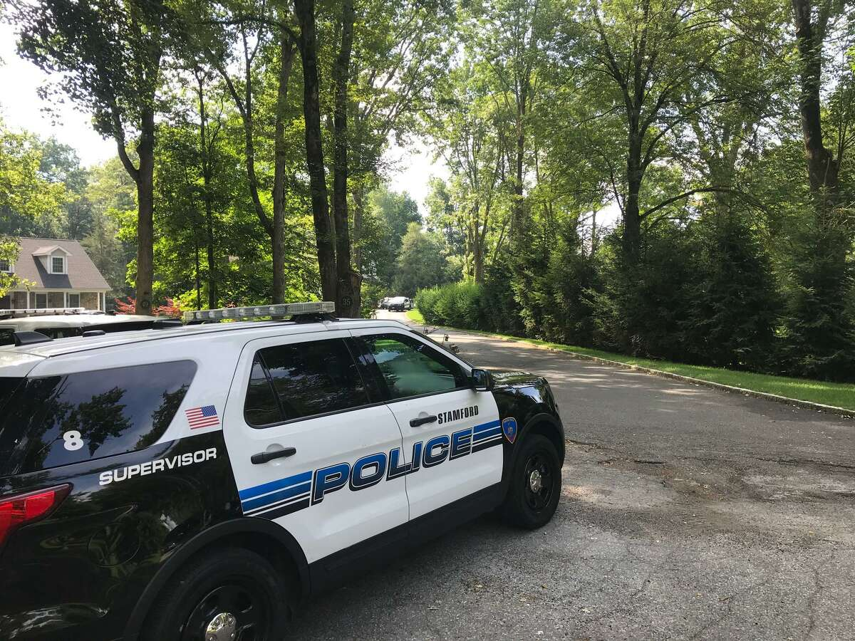 Stamford police are investigating an incident at a Woodley Road home on Friday morning.