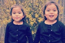 Odessa twins Mya, left, and Mia Coy were transported to Medical Center Hospital, where they died after being struck by accused drunken driver,Angelica Garcia.