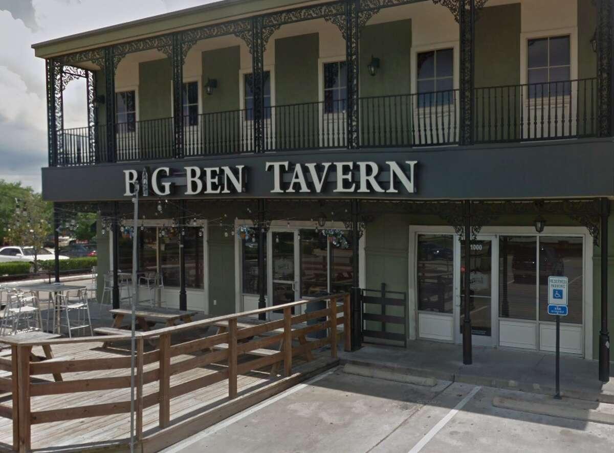10. Big Ben Tavern Address:636 Highway 6 Suite 1000, Sugar Land, TX 77478 Special Sunday Hours: 10 a.m.-12 a.m. Stars: 4