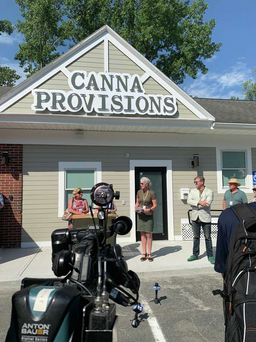 Canna Provisions, a marijuana company started by industry veterans, opened Friday, July 5, 2019 in the town of Lee, Mass.