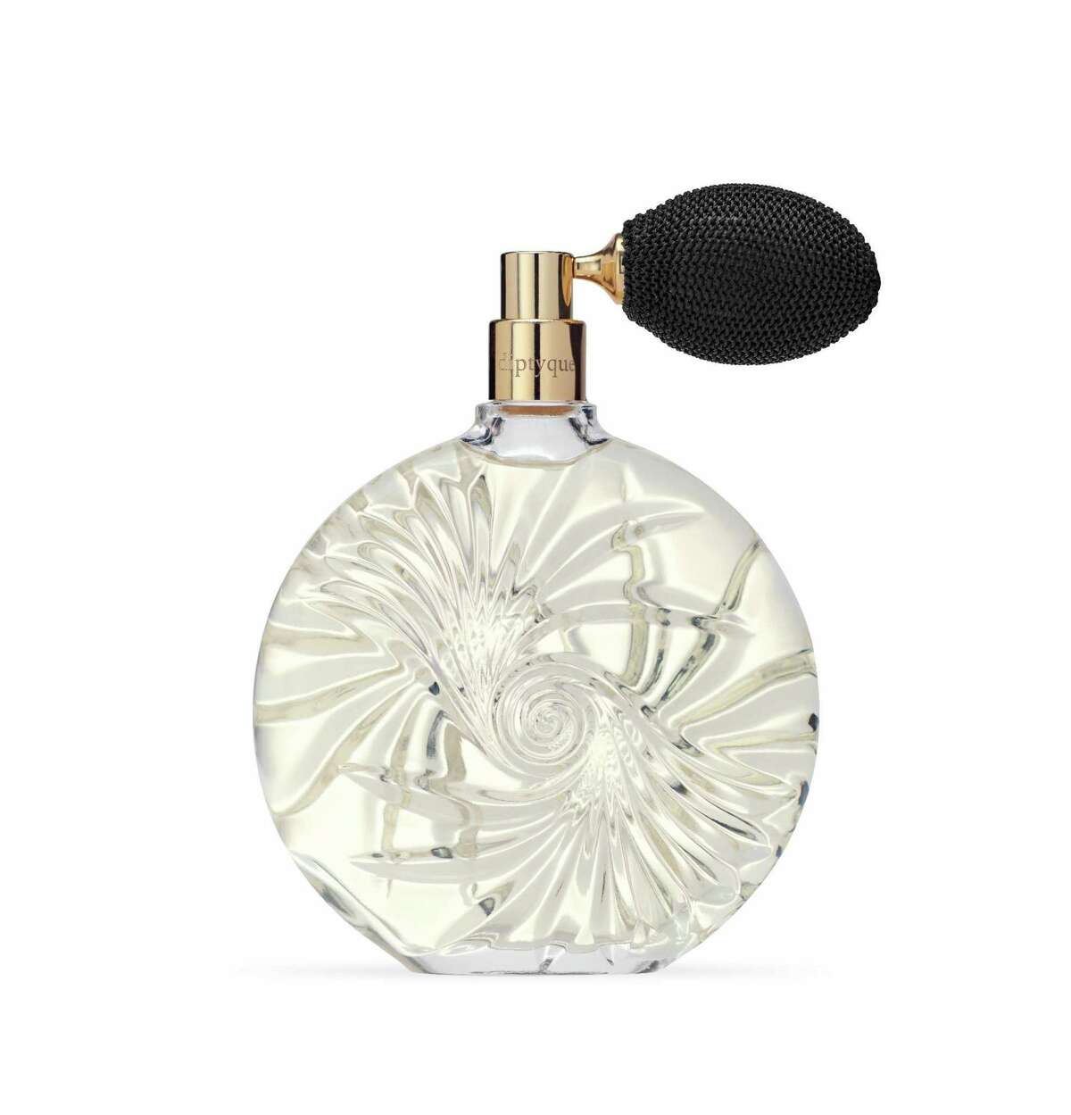 Diptyque Paris Essences Insensées Tiare Flower: The Tahitian gardenia (tiare) is infused with fragiapani, vanilla and pink peppercorn in this lush new chapter of the Essences Insensees collection; $250 a Diptyque boutique, River Oaks District.
