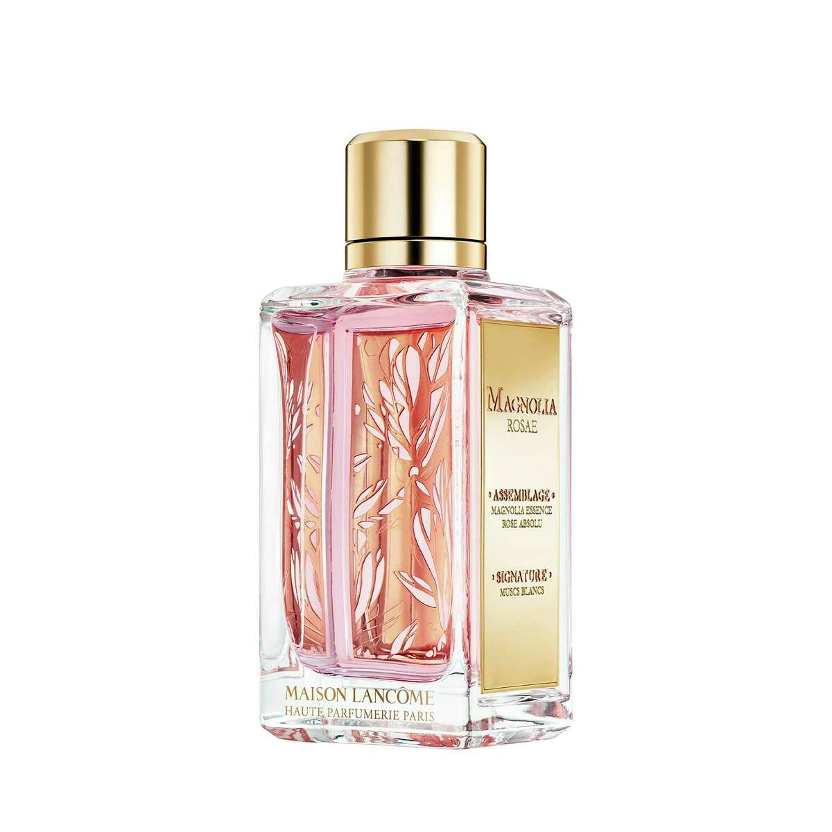 Maison Lancome's new collection of four new fragrances are inspired by French gardens including Magnolia Rosae that invests sensual magnolia with blackcurrant, freesia, Turkish rose and white musks; $175 at Saks Fifth Avenue and Neiman Marcus.