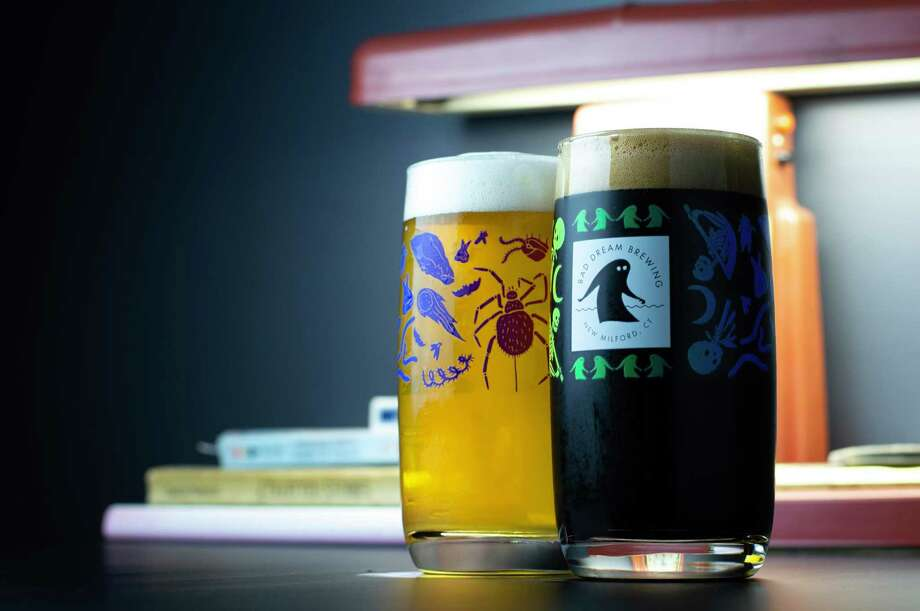 A light and a dark Bad Dream beer. Photo: Brian Benzinger / Contributed Photo
