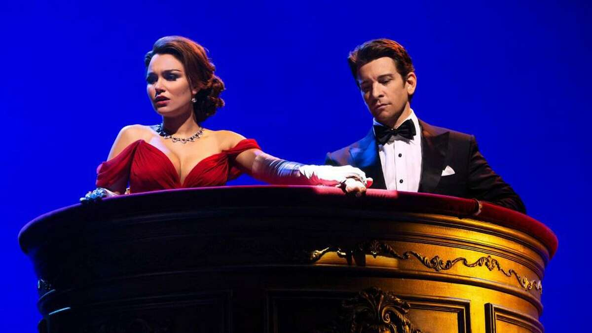 Samantha Barks and Andy Karl star in