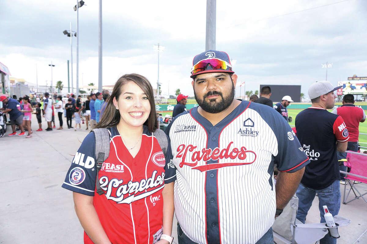 Carmen and Alex Reyna at Uni-Trade Stadium