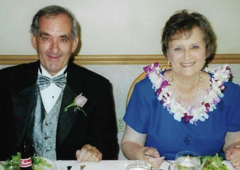 """Longtime Torrington residents Gary and Patricia Manack celebrated their 50th wedding anniversary July 5, by renewing their wedding vows at Nativity Catholic Church in Brandon, FL. Gary Manack was raised in Follansbee, WV, but moved to Torrington when he was just seven. Patricia (Vasko) Manack was born and raised in Torrington. The two were married on July 5, 1969, at St. Francis of Assisi. Gary, a UCONN graduate, was an English teacher at Oliver Wolcott Technical School. Patricia, also a UCONN graduate, worked as a library assistant at East School, Vogel Middle School and Torrington High School. Gary and Patricia relocated to Brandon, FL, in 1993, where they still reside.""""That Gary and Patricia are celebrating their 50th anniversary is no small miracle,"""" family members said.""""In 2007, Gary suffered a stroke followed by a brain hemorrhage that was nearly fatal, but recovered. Two years after the stroke, however, Gary was diagnosed with cancer, but he fought it and remains in remission today. Patricia suffered a more severe stroke than Gary's in 2014. Patricia fought hard, though, and is able to get around in her wheelchair. Their shared experience has only strengthened their 50-year marriage and brought them closer together."""" Photo: Contributed Photo"""