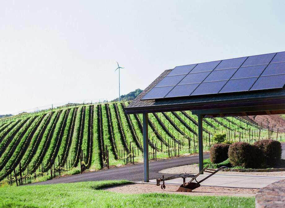 Wineries are cutting energy use one bottle at a time
