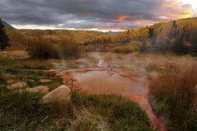Dunton Hot Springs in Colorado has several lithium and magnesium-infused springs on property.
