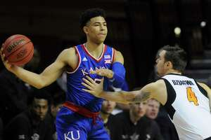 Quentin Grimes, a graduate of College Park High School, officially signed with the University of Houston. The former Kansas Jayhawk will not become eligible to play until the 2020-21 season.