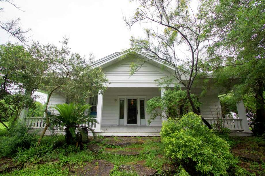 The main house of the Cannon Recovery House is seen Thursday, May 30, 2019 in Magnolia. The house is on seven acres of land and is being used to aid in the recovery of veterans in long-term recovery of PTSD and substance abuse. Photo: Cody Bahn, Houston Chronicle / Staff Photographer / © 2018 Houston Chronicle