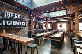 Brave Horse Tavern: Its a South Lake Union Tom Douglas tavern, which means your pub grub is going gourmet -- hot pepper chicken wing style. Alongside dozens of craft brews, pal around post-work with plenty of shuffleboard shenanigans.