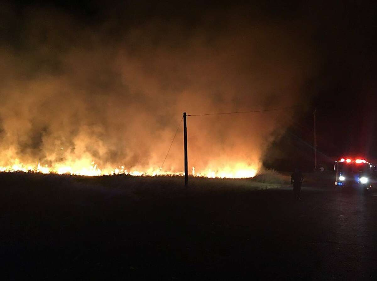 Fireworks sparked a small blaze in Martinez on July 4, according to Contra Costa County fire officials. At least 37 fires were reported Thursday night, a large jump from the usual calls for service on weekdays, officials said.
