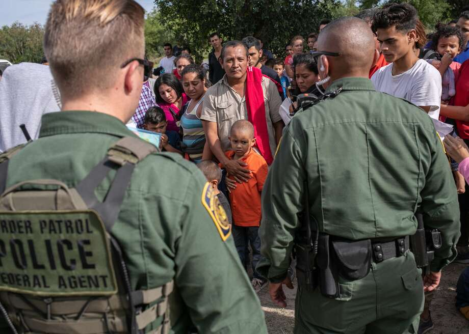 """9,500 border patrol agents part of controversial Facebook group AProPublica report released Monday revealed that a private Facebook group of nearly 9,500 current and former border patrol agents contained racist and sexually explicit content, as well as jokes about migrant deaths and family separation.  The group called """"I'm 10-15""""—code for """"aliens in custody""""—was created in August 2016 and describes itself as a forum for """"funny"""" and """"serious"""" discussions about the line of work.  Customs and Border Protection announced that it will launch an investigation into the group. U.S. Border Patrol Chief Carla Provost condemned the posts and stated that employees found to have violated codes of conduct will be held accountable. This slideshow was first published on theStacker.com Photo: John Moore/Getty Images"""