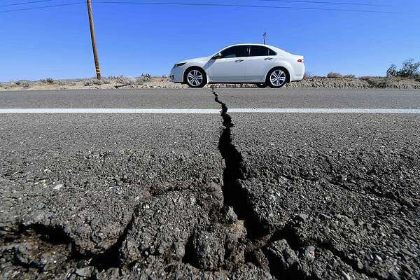 Powerful 7.1 earthquake strike...