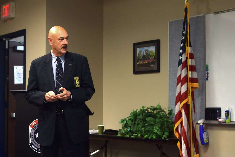 Alan Bragg, former chief of the Cy-Fair ISD Police Department, presented strategies for school security and safety to the Houston Northwest Chamber of Commerce on June 27. Photo: Chevall Pryce