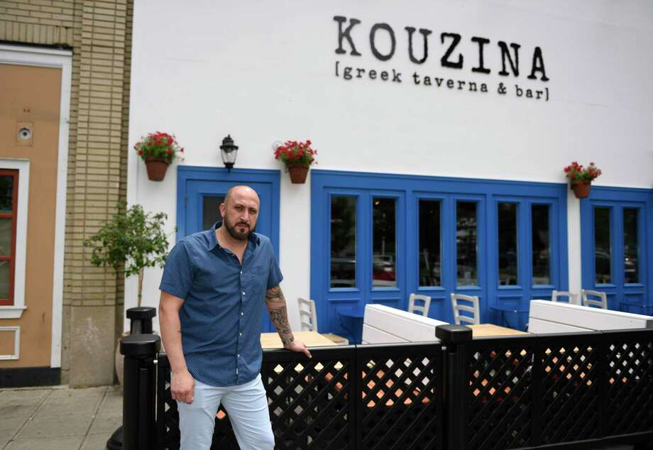 Kouzina Greek Tavern & Bar will be taking part in Stamford Restaurant Weeks, which begins Aug. 19 and will run until Sept. 1. Photo: Tyler Sizemore / Hearst Connecticut Media / Greenwich Time