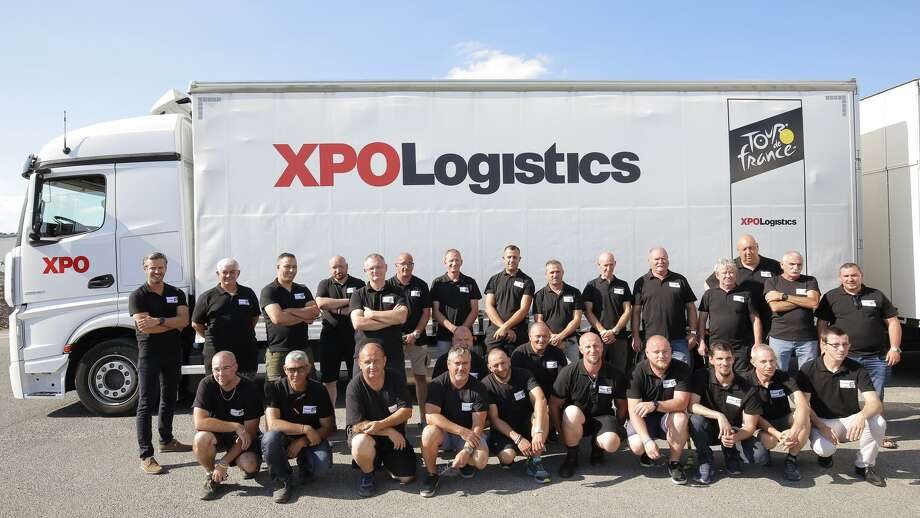 XPO Logistics has extended its contract as the transportation partner for the Tour de France until 2024. Photo: Contributed Photo