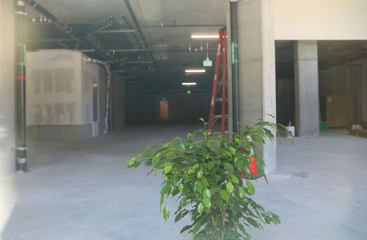 Part of the view of the restaurant space at 601 Columbus Ave being leased on Friday, July 5, 2019, in San Francisco, Calif.