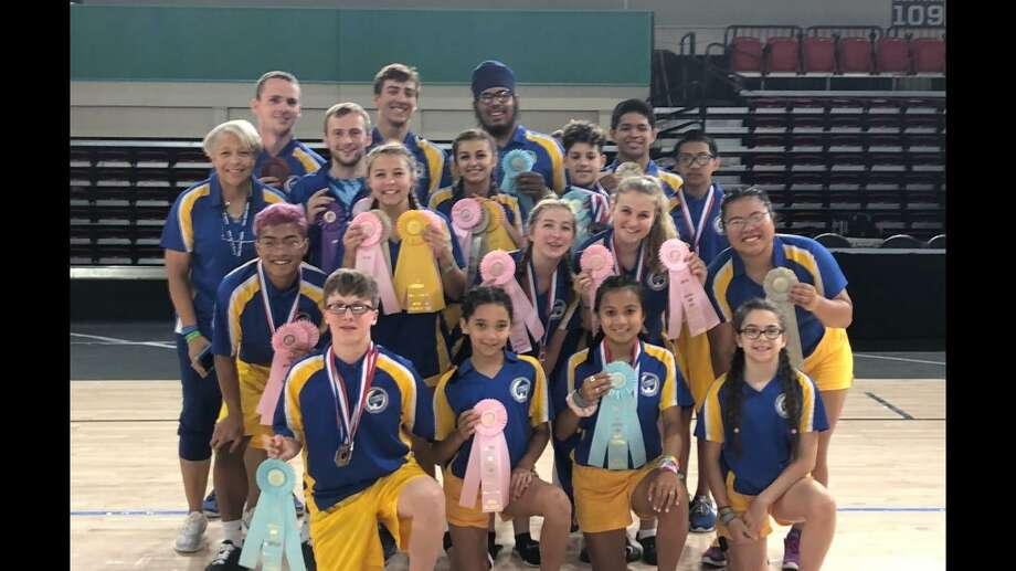 The Forbes Flyers Jump Rope Team took18 jumpers to the 2019 USA Jump Rope National Tournament, held at a new ESPN Facility in Disney World. Photo: Janice Harrington / Contributed Photo /