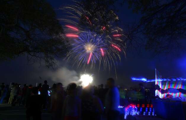 Stamford The Stamford Downtown Special Services District will put on a 20-minute fireworks display starting at 9 p.m. July 7 (rain date will be July 8). The fireworks had originally been scheduled for Thursday, July 1. Photo: Matthew Brown, Hearst Connecticut Media