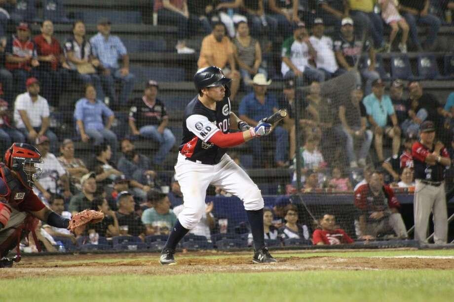 Tecolotes Dos Laredos right fielder Beder Gutierrez Photo: Courtesy Of The Tecolotes Dos Laredos