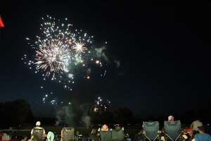 Skero's Furniture hosted the 5th of July Fireworks event at The Overlook in Atascocita.
