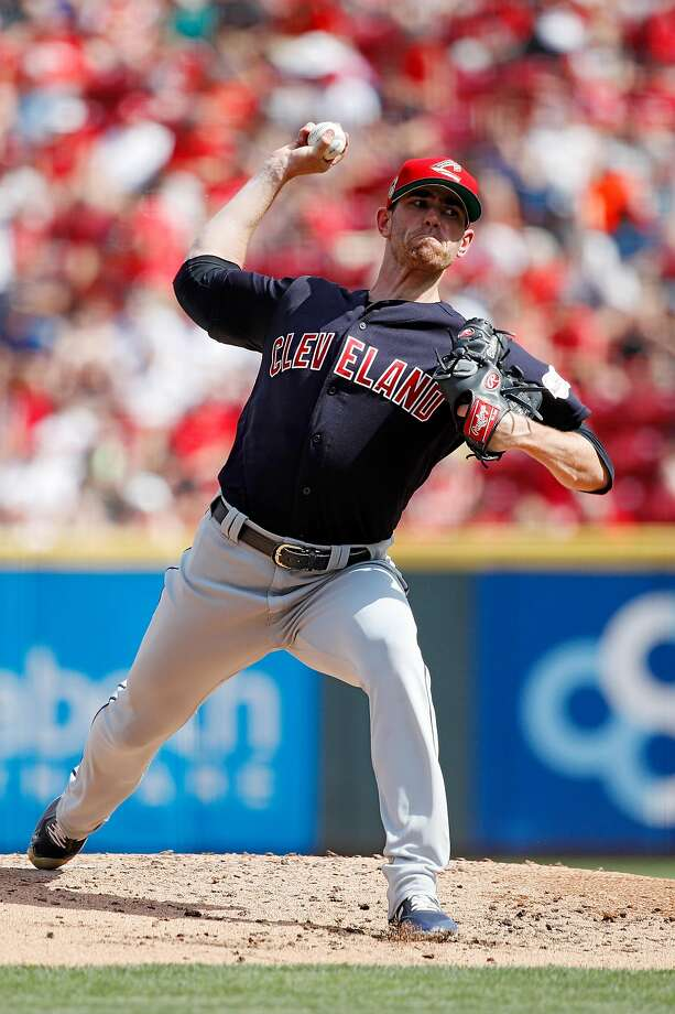 Indians starter Shane Bieber, told on Friday that he is an All-Star, lasted eight innings on Saturday. Photo: Joe Robbins / Getty Images