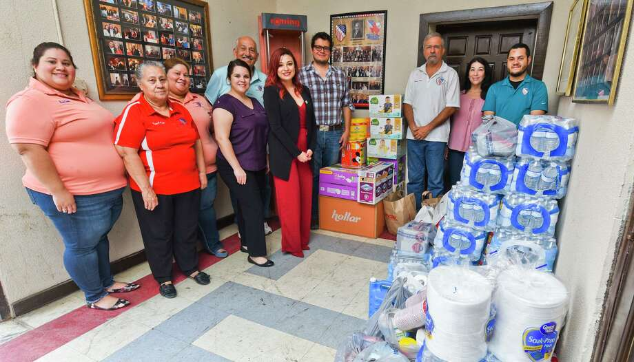 LULAC Council 12 collected emergency supplies at the LULAC 12 Hall on Saturday during the council's emergency supply drive for La Frontera Shelter, a part of Catholic Charities. Photo: Danny Zaragoza / Laredo Morning Times / Laredo Morning Times