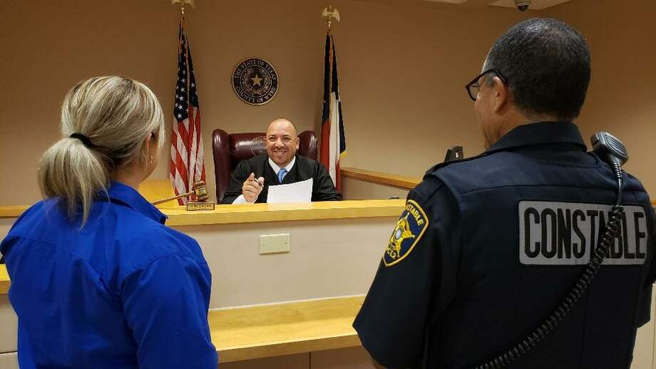 Webb County Precinct 2 Place 1 Justice of the Peace Bobby Quintana announced that he is having night court at 7 p.m. on July 24. Walk-ins are welcome. Photo: César G. Rodriguez /Laredo Morning Times