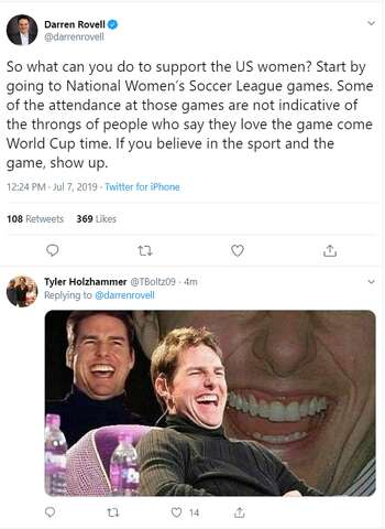 Twitter names Megan Rapinoe the real president after U S