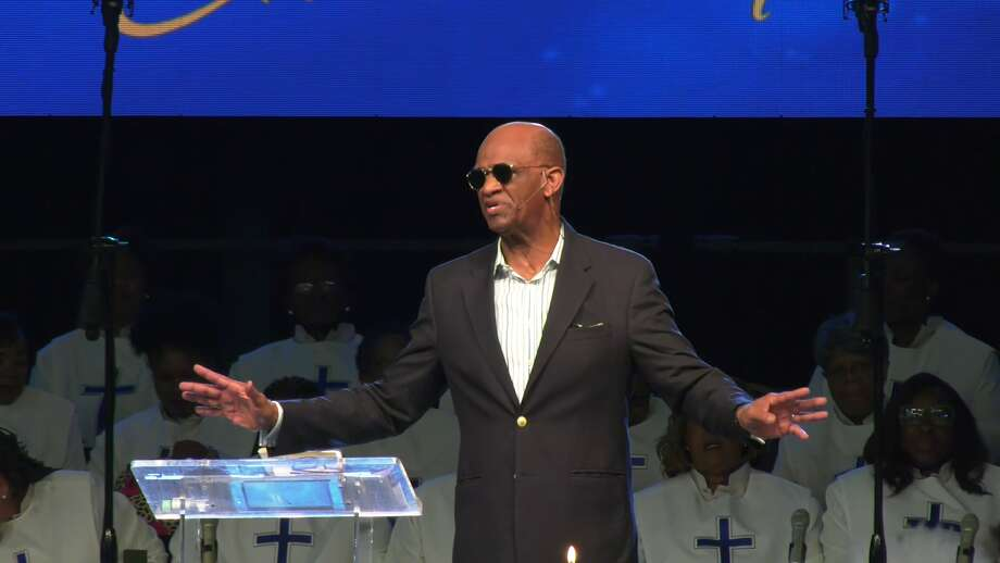 Kirbyjon Caldwell, the embattled pastor of Windsor Village United Methodist Church, announces diagnosis of stage one prostate cancer. Photo: On Scene Video