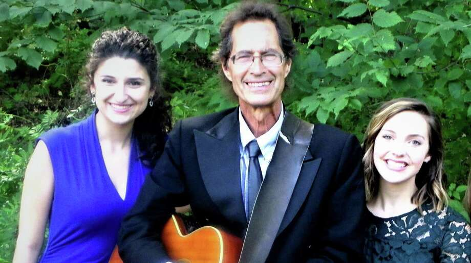 Billy Michael, center, and female vocalists Arianna Carlo and Anna Bishop at 7 p.m. Saturday at the Brookfield Museum. Photo: Contributed Photo / Contributed / The News-Times Contributed