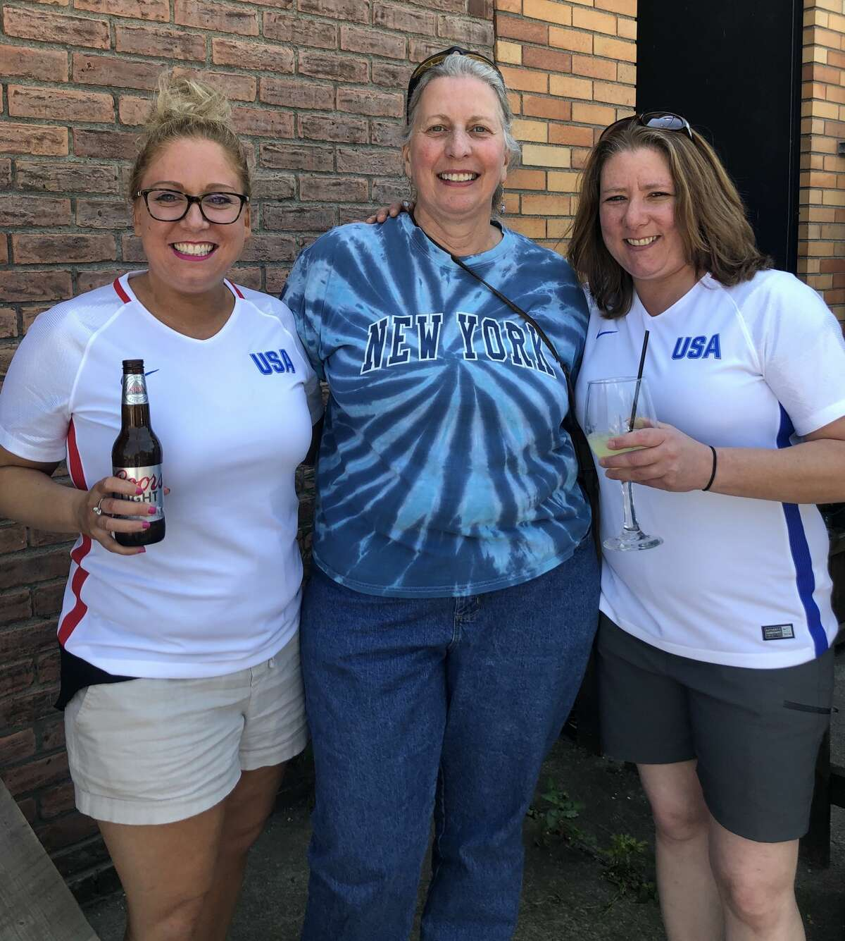 Were you Seen at Wolff's Biergarten for the USA Women's Soccer World Cup game in Albany on July 7, 2019?