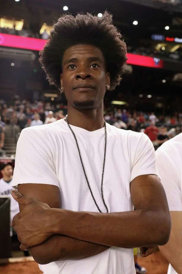 PHOENIX, AZ - SEPTEMBER 12:  Josh Jackson of Phoenix Suns stands on the field before the MLB game between the Arizona Diamondbacks and the Colorado Rockies at Chase Field on September 12, 2017 in Phoenix, Arizona.  (Photo by Christian Petersen/Getty Images) ORG XMIT: 700012421 Photo: Christian Petersen / 2017 Getty Images