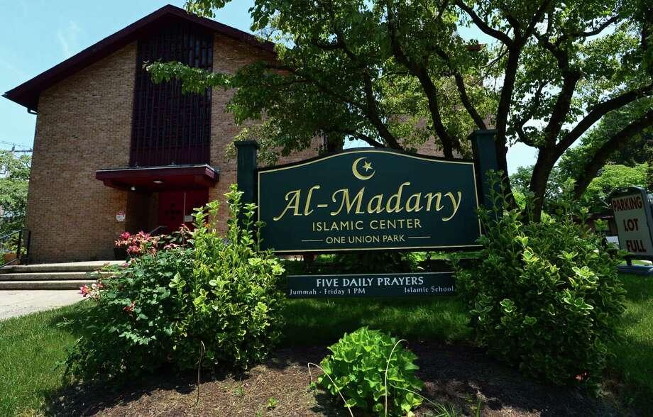 The Al Madany Islamic Center on Mott and Park Street in Norwalk. Photo: Erik Trautmann / Hearst Connecticut Media / Norwalk Hour