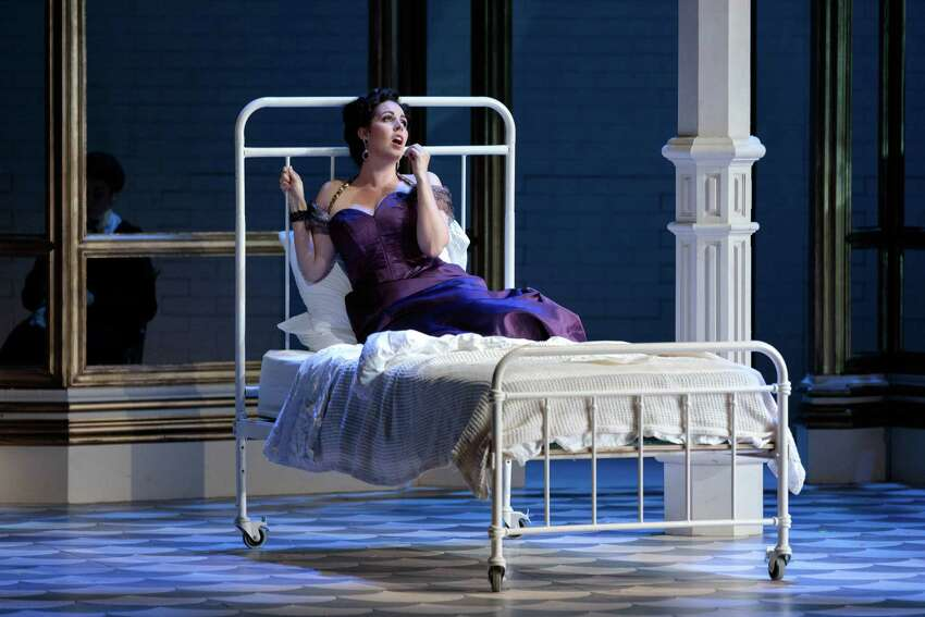Amanda Woodbury as Violetta in The Glimmerglass Festival's 2019 production of