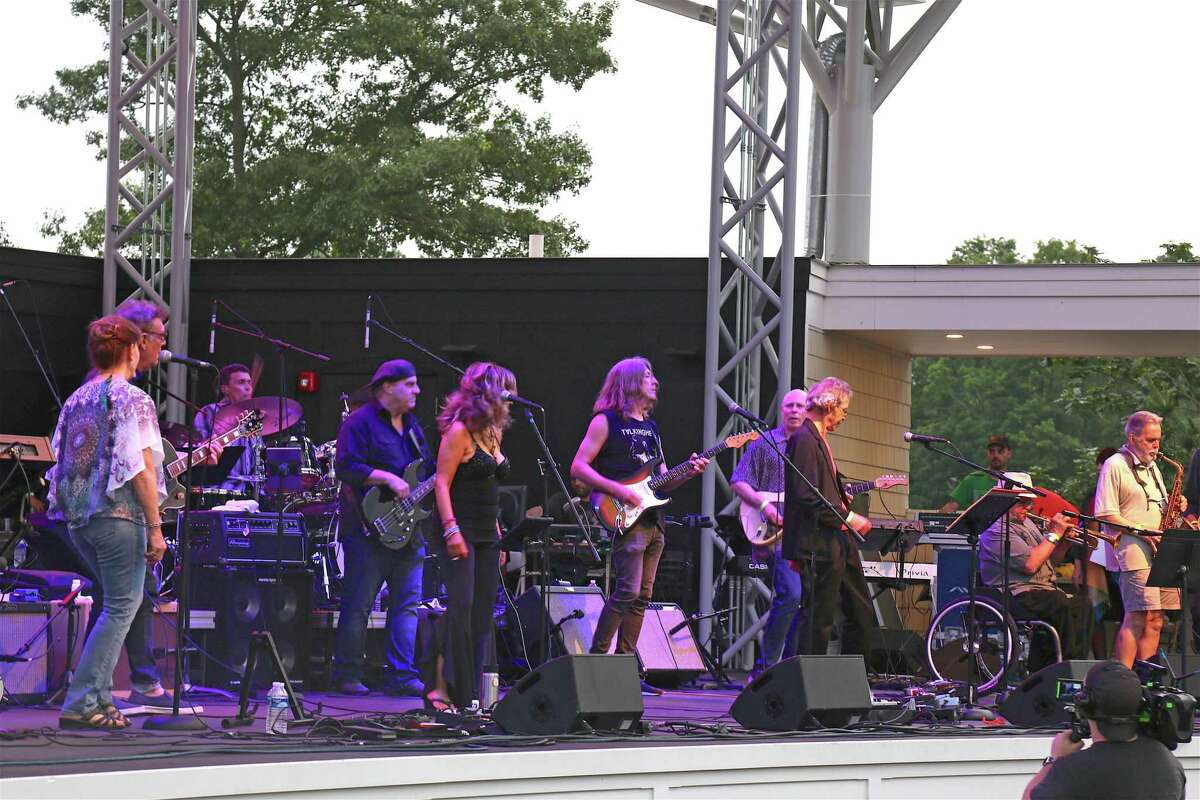 A bevy of local legends performed at The Charlie Karp Memorial Concert on Saturday, July 6, 2019, at the Levitt Pavilion in Westport, Conn.
