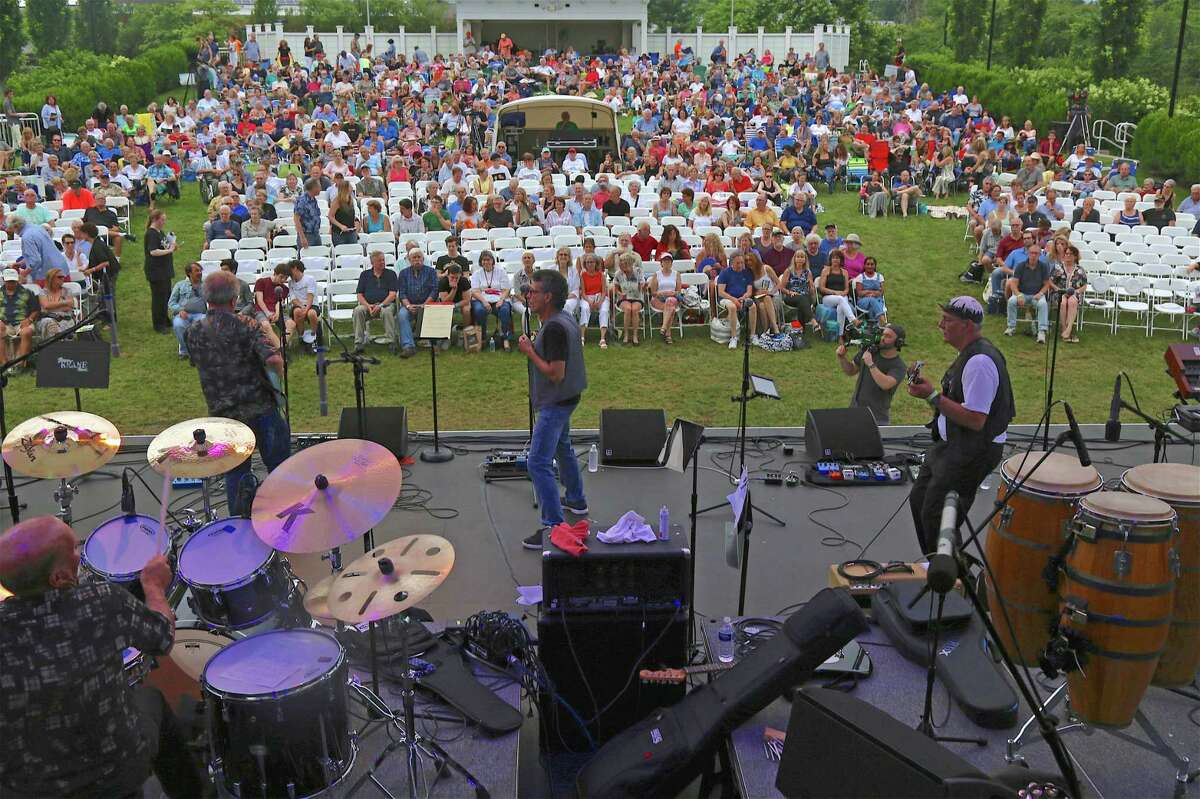 The original Mandrake Root opens the show at The Charlie Karp Memorial Concert on Saturday, July 6, 2019, at the Levitt Pavilion in Westport, Conn.