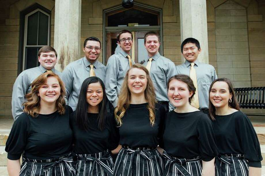 New Song, a special musical ministry of Geneva College, will perform July 16 in Midland. (photo provided)