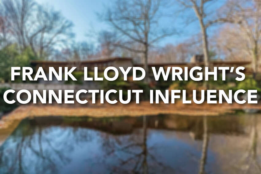 Continue ahead for a look at Frank Lloyd Wright's homes and influences in Connecticut.