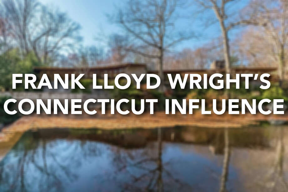 Continue ahead for a look at Frank Lloyd Wright's homes and influences in Connecticut. Photo: Contributed / © 2015 PlanOmatic