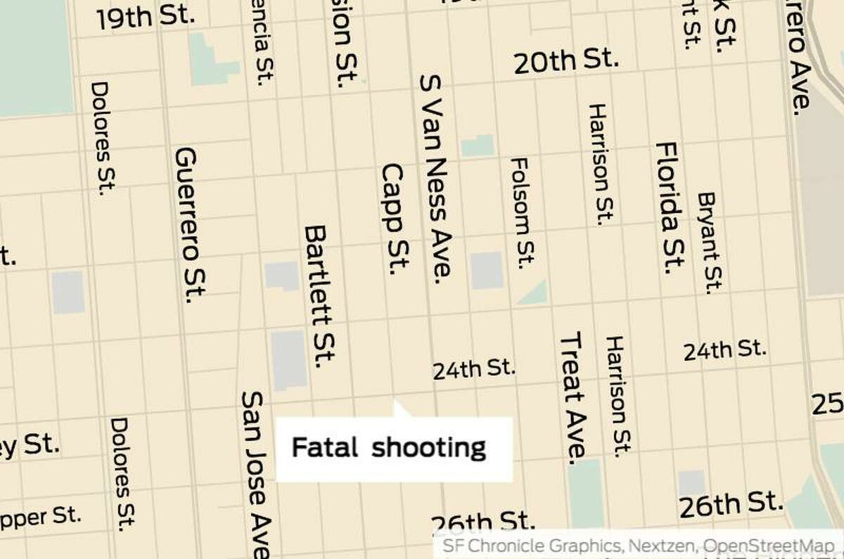 A shooting in San Francisco's Mission District left one man dead, authorities said.