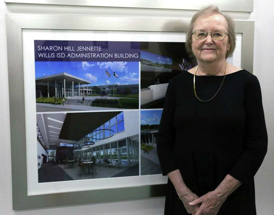 The Willis School District will honor the late Sharon Hill Jennette as the namesake of the new administration building that is expected to open in September. The longtime assistant to the superintendent served the district for 49 years until she retired on May 31. Photo: Submitted Photo / Submitted Photo