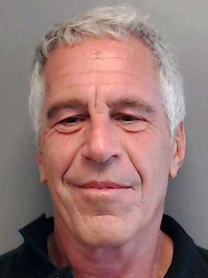 In this handout provided by the Florida Department of Law Enforcement, Jeffrey Epstein poses for a sex offender mugshot after being charged with procuring a minor for prostitution on July 25, 2013 in Florida. Photo: Handout/Getty Images / 2019 Florida Department of Law Enforcement