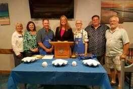 Pictured left to right: Ernestine Belt, TashaChildress, Scott Lambert, Debbie Kirkham-Young, Tommie Daniel, West Smith, andLarry Middleton.