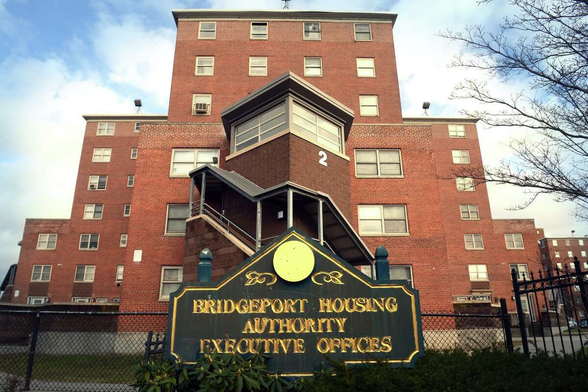 The Charles F. Greene homes, in Bridgeport, Conn. Dec. 17, 2018. On Monday the City of Bridgeport announced new efforts to clean and maintain the aging housing complex.