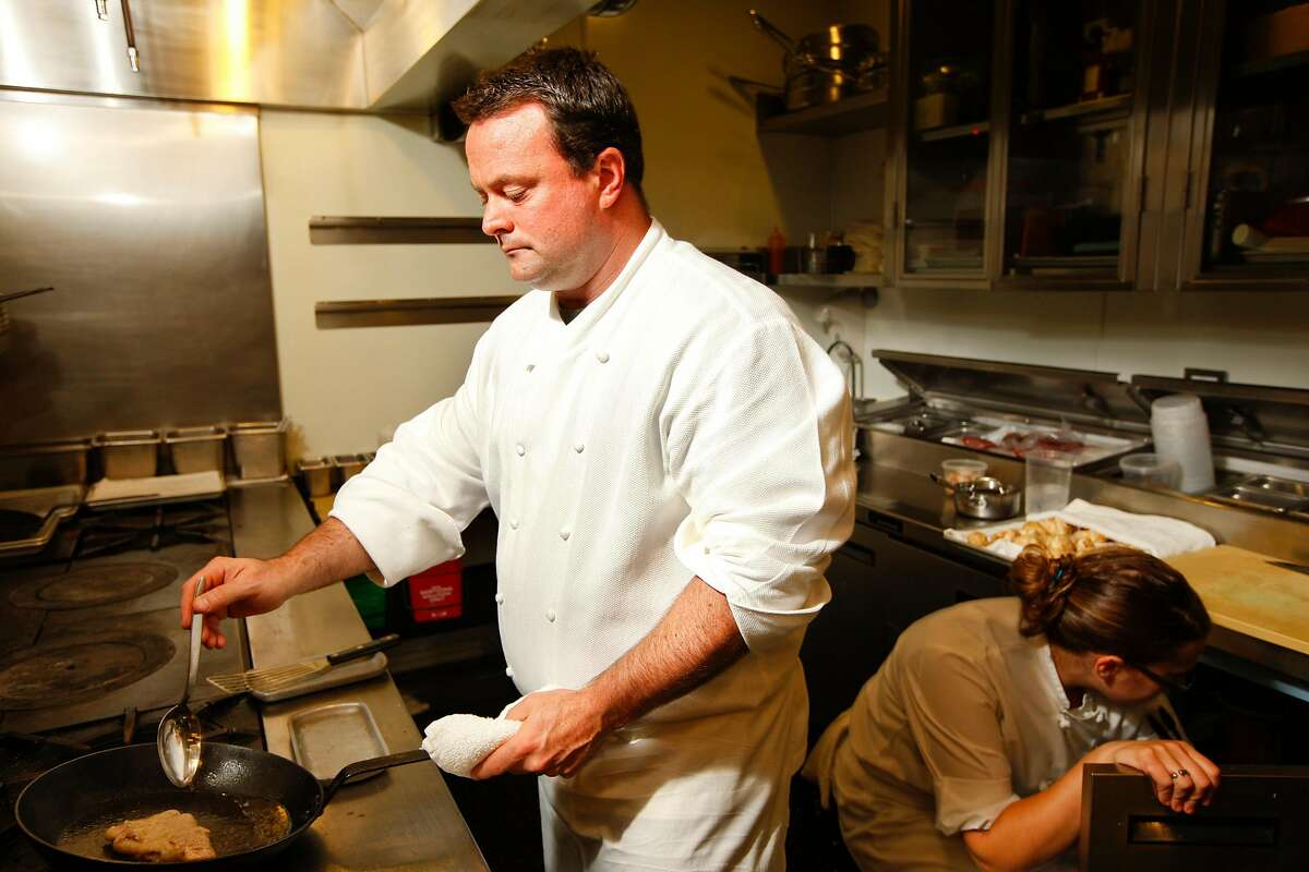 Douglas Keane, chef and owner of Cyrus restaurant in Healdsburg, California on Thursday, October 25, 2012.